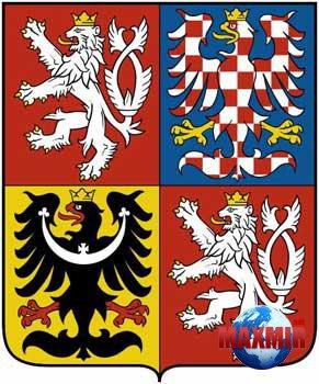 И чехословацким флагом красный и