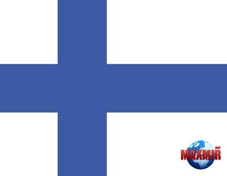 белый флаг с синим крестом